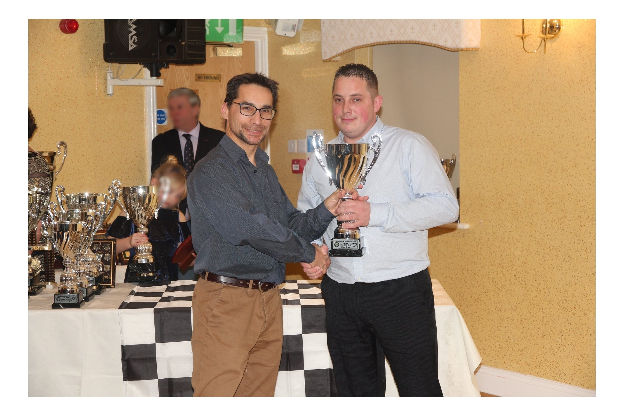 Paul Woodthorpe kart presentation