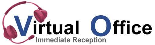 Virtual Office Immediate Reception Logo
