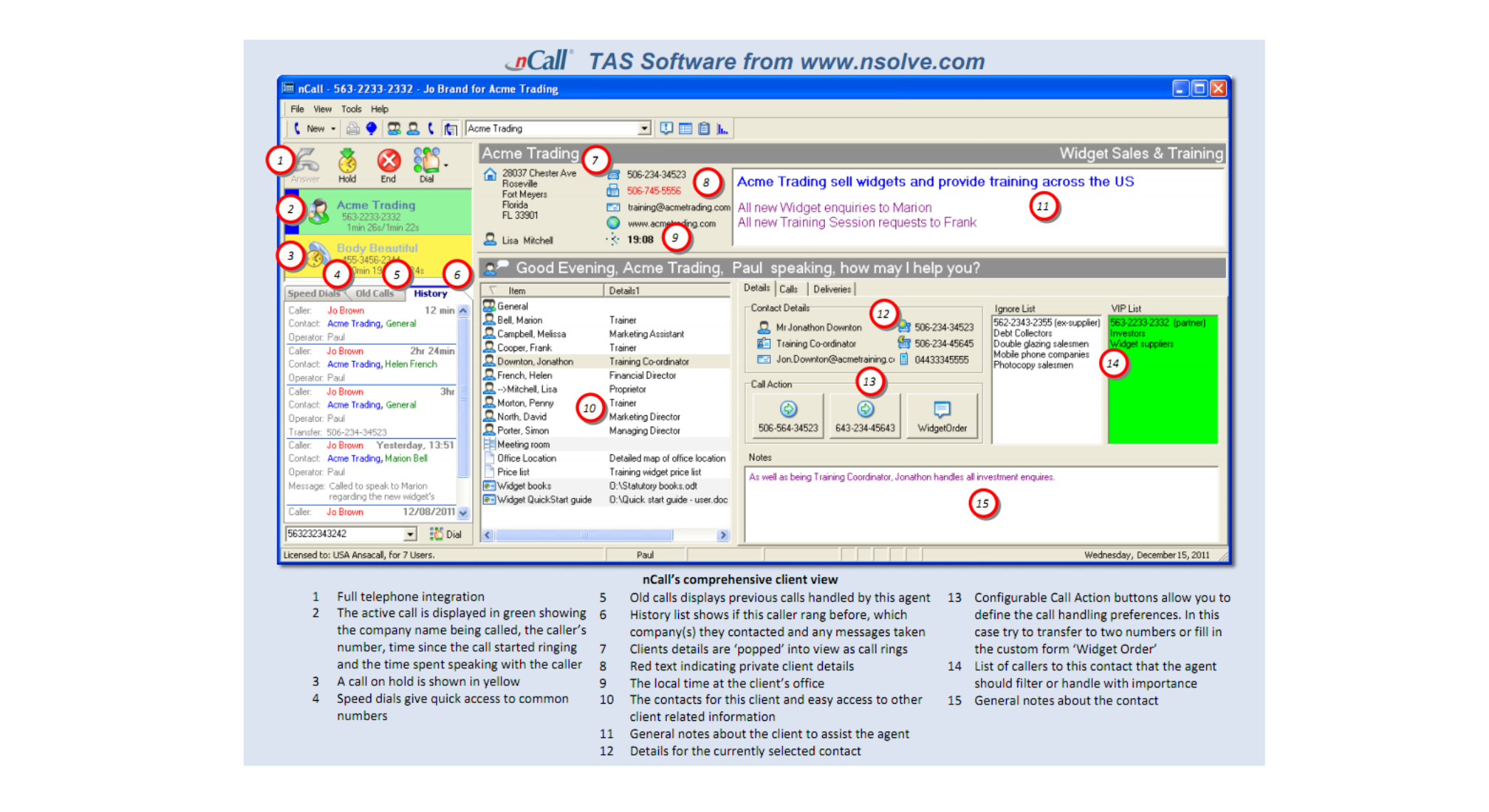 nCall Client View1